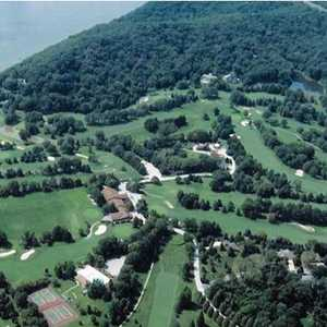 Lockhaven CC: aerial view
