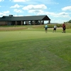 A view of the clubhouse at Red Tail Run Golf Club
