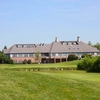 A view of the clubhouse at Ruffled Feathers Golf Club