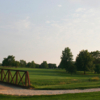 A view from Springbrook Golf Course with bridge on the left