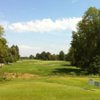 A view from a tee at Spencer T. Olin Golf Course