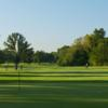 A view of a green at Madison Golf Course