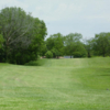 A view of the 1st fairway at Elmwood Golf Course