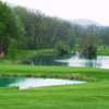 View of a green and pond at Eagle Ridge Resort & Spa