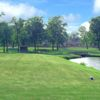 A view from a tee at Yorktown Golf Course