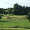 A view of a green at Plum Creek Golf Course.