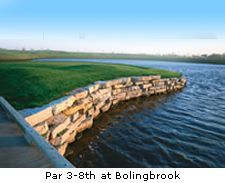 Par 3-8th at Bolingbrook
