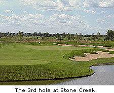 Hole No. 3 at Stone Creek