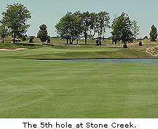 Hole No. 5 at Stone Creek