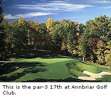 No. 17 at Annbriar Golf Club