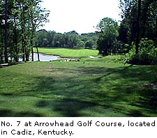 No.7 at Arrowhead Golf Course