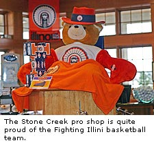 The Stone Creek Pro Shop
