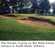 The Warren Course at Notre Dame